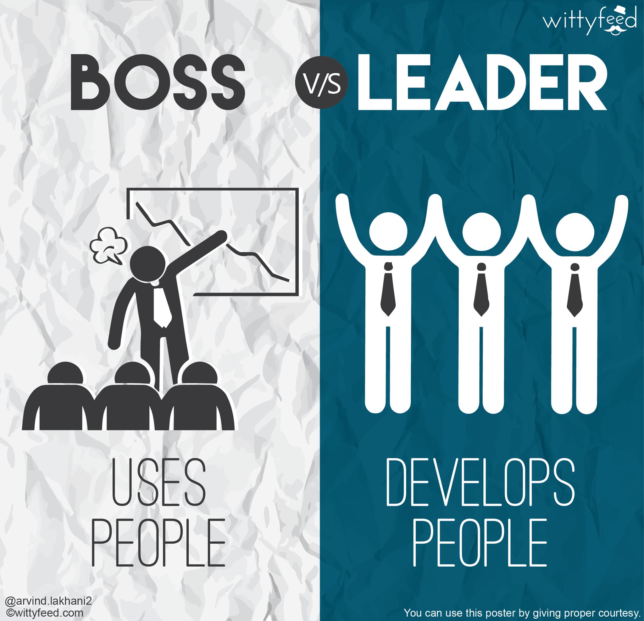 Boss vs leader 3
