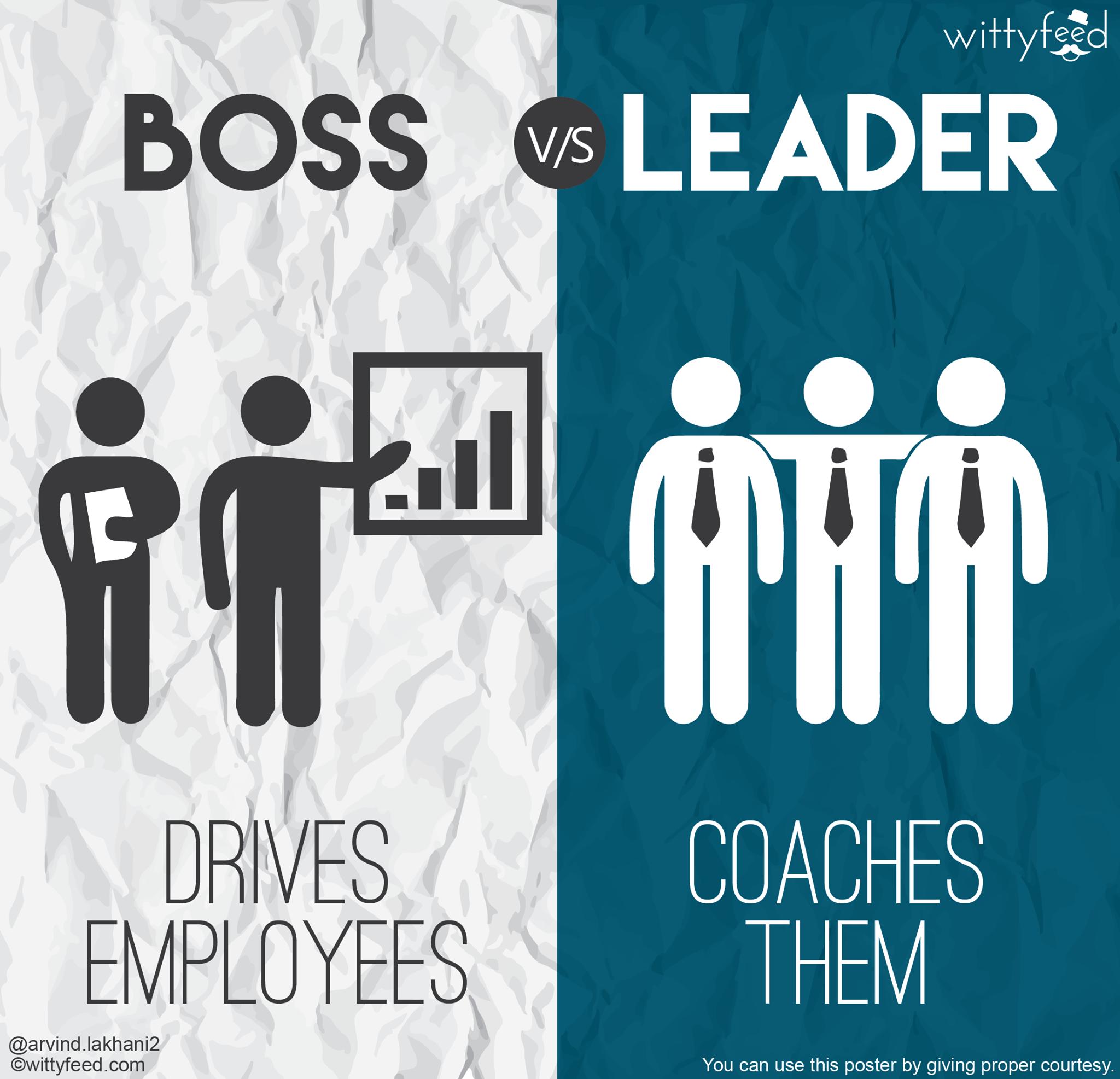 Boss vs leader 6