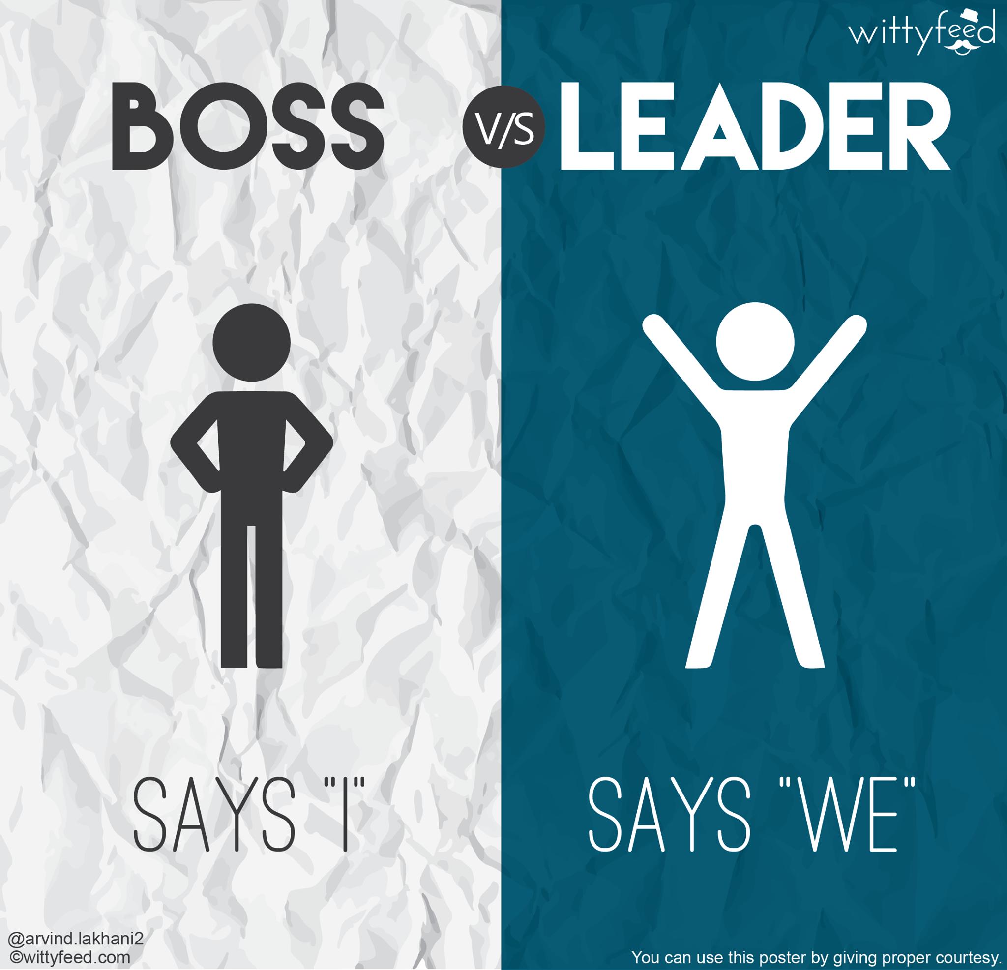 Boss vs leader 8