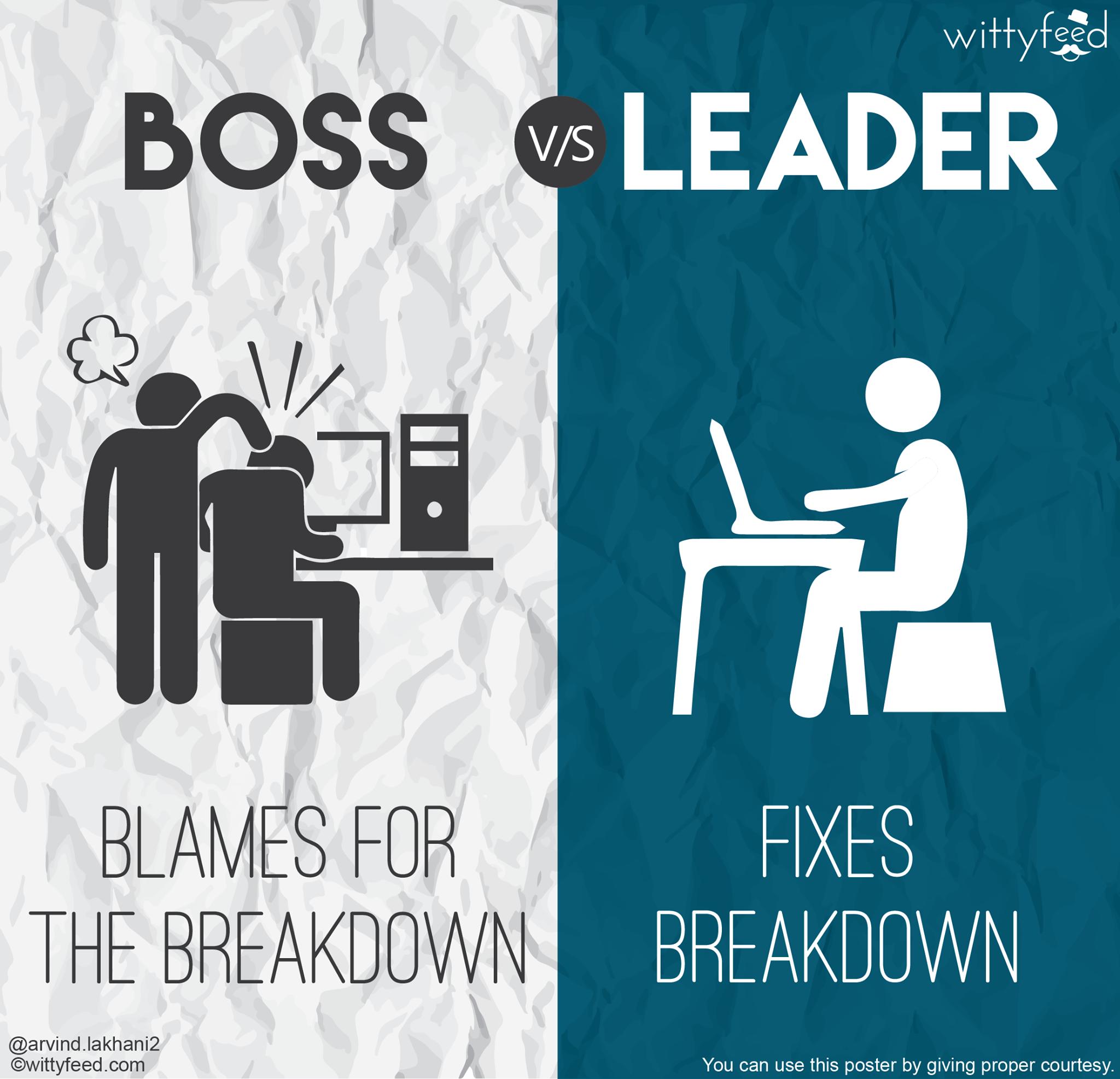 Boss vs. leader 5