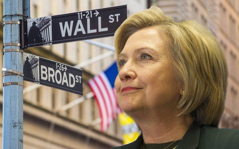 Wall Street Hillary